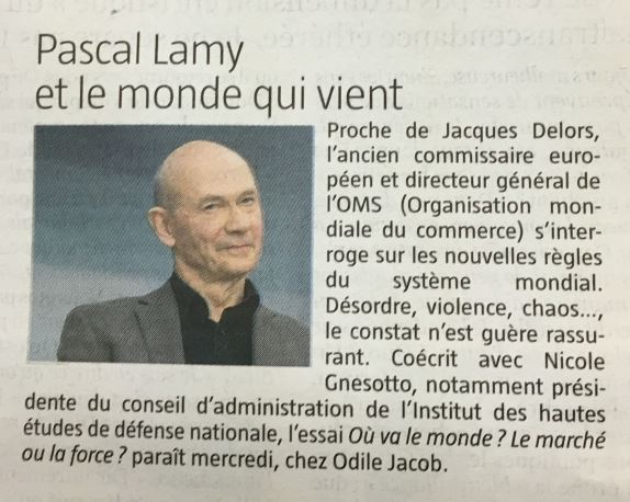12 02 2017 - le jdd - Pascal Lamy et le monde qui vient.jpg